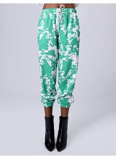 Huxel WLP001193 Şalvar Pantolon Yeşil
